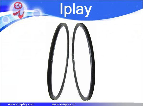 IPLAY cheap 29er Carbon MTB Rims 28mm Width x 25mm Depth clincher Mountain Bike Rims For XC cross country