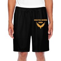 Logan Paul Maverick Bird Gold Logo Men Sporting Beaching Shorts Trousers Cotton Bodybuilding Sweatpants Fitness Short