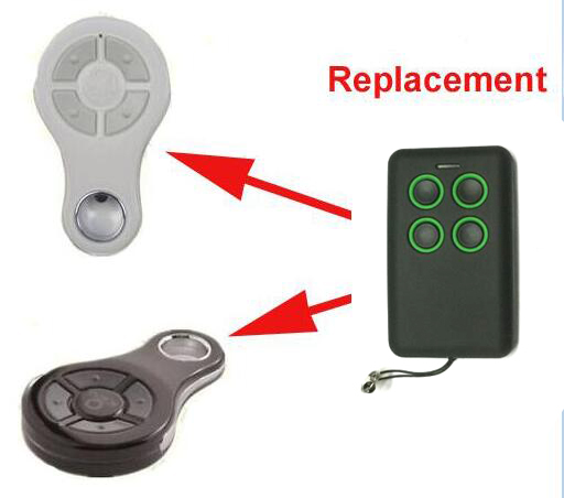 Free Shipping KEY SUB-44R Rolling Code compatible Remote Control Gate Opener