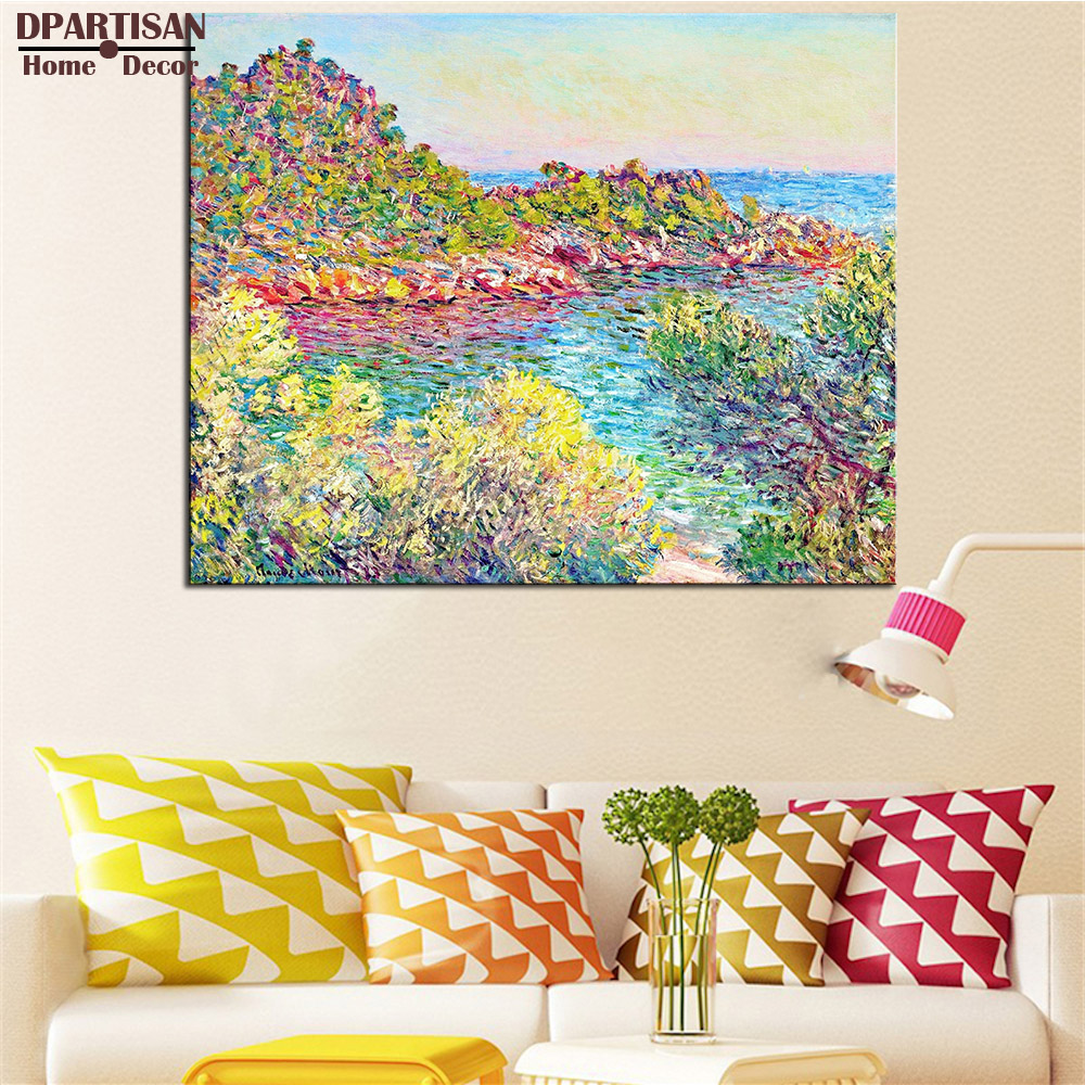 DPARTISAN Claude Monet in der nähe von montecarlo wandkunst Druckt ...