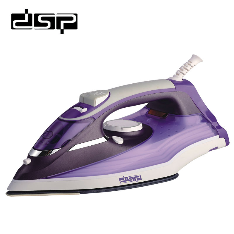 DSP Household professional iron Coated Non Stick Soleplate ironing iron Electric iron 220 240V
