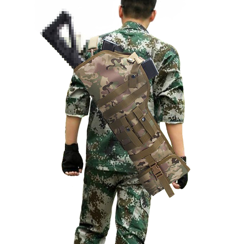 TAK YIYING Hunting Accessories Tactical Rifle Scabbard Backpack Shotgun Cover Case Holster Sair AR15 M4 M16 Mossberg cs force tactical shotgun scabbard holster military army gun bags shell holder rifle case hunting backpack single shoulder molle