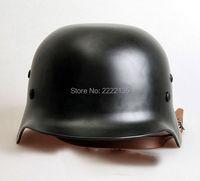 WW2 German M35 Steel Helmet Army Outdoor Activities Safety Helmet