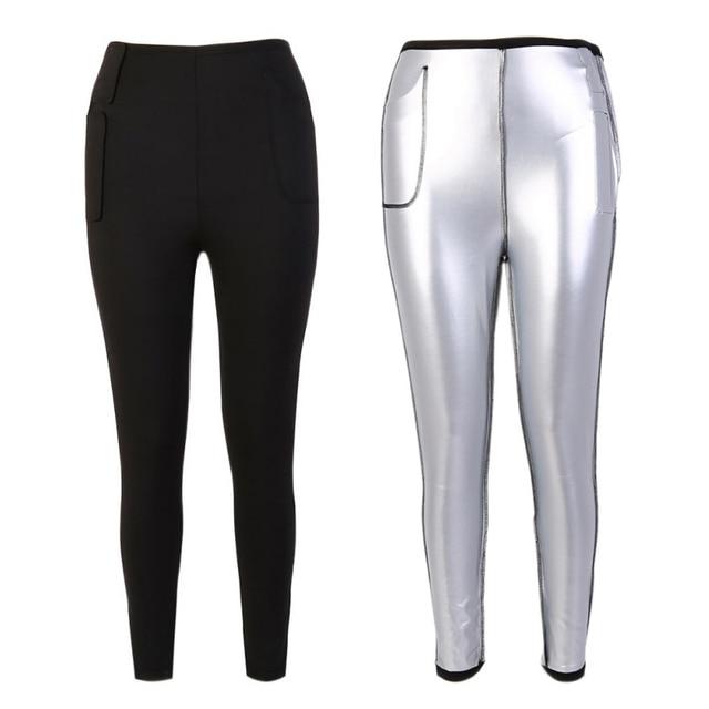 Women hotsell shaper PantThermo Neoprene Sweat Sauna Body Shapers Women's Waist Trimmer Hot Slimming Body Shaper Hot Pants T7 2