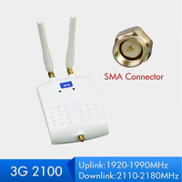 WCDMA 2100mhz lte cellphone signal repeater mini 3g phone signal booster amplifier Only Booster kits for cell phone use