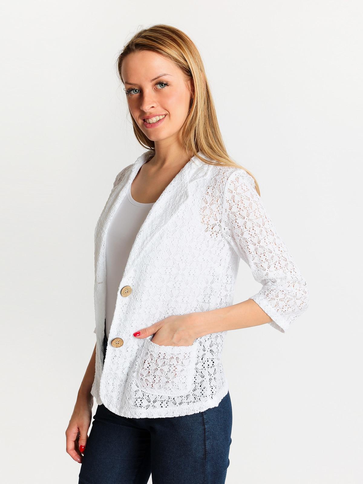 SOLADA Jacket Lace Openwork