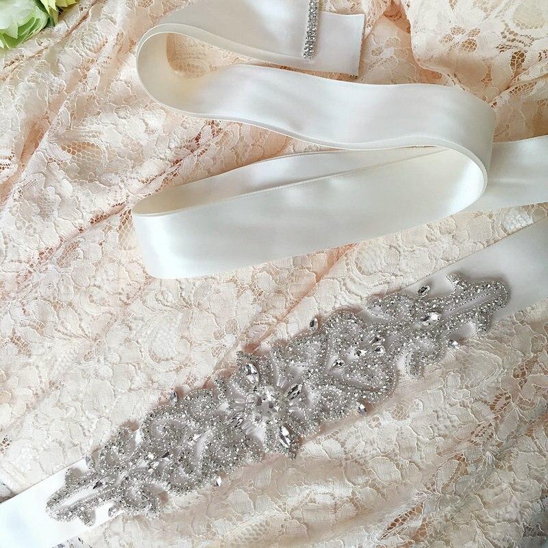 Unique Wedding Dress Sashes Belts: Low Price Women Designer Belts Rhinestones Clothing