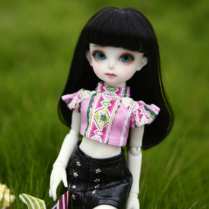 Image 1 - BJD Dolls Momocolor Emily 29cm 1/6 Adorable Cutie High Quality Resin Figure Girl Toys Best Birthday Gifts