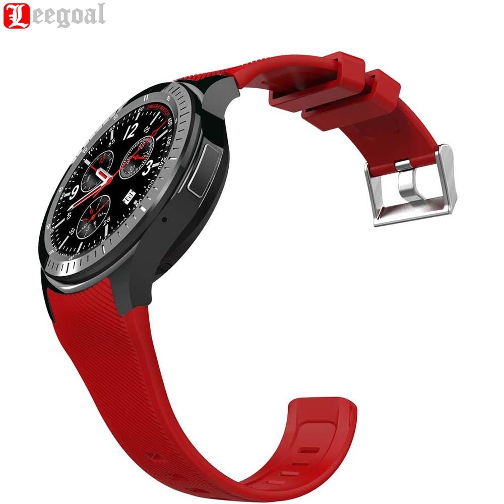 DM368 montre intelligente Fitness Tracker 3G Smartwatch Bluetooth 4.0 GPS Wifi podomètre fréquence cardiaque 1.39