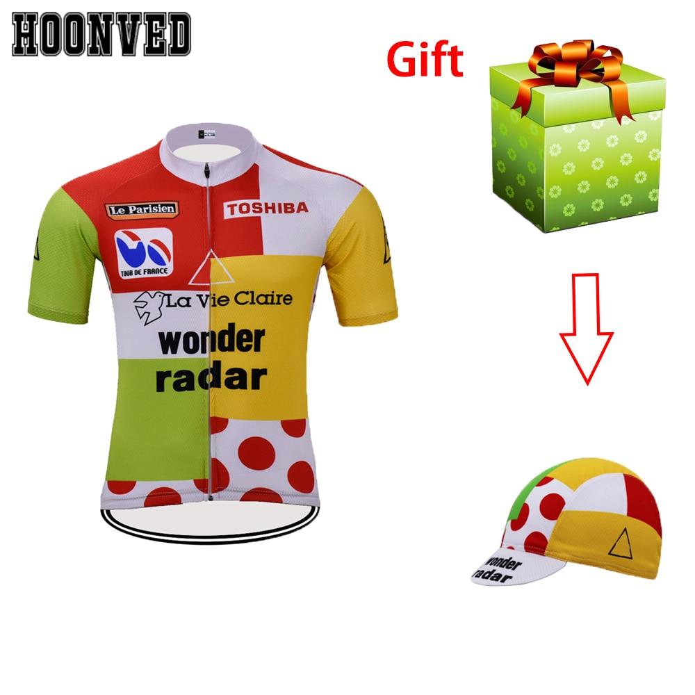 WONDER RADAR LA VIE CLAIRE Cycling Jersey mens team cycling Short Sleeve Jersey