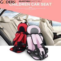 Große Sicheren Sitz Tragbare Baby Sicherheit kinder Stühle Aktualisierte Version Verdickung Schwamm Kinder Autositz Kinder 76*36 cm
