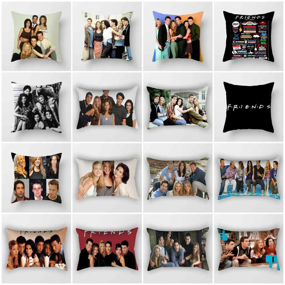 ZENGIA Friends TV Show Cushion cover 45x45cm Polyester Friends Pillow cover Sofa decorative Cushions 30x50cm Decorative Pillows