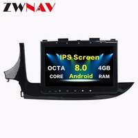IPS Screen 4+32G Android 8.0 Car multimedia Player head unit For Opel MOKKA 2017 With GPS Navigation BT Radio auto stereo