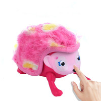 MR RC Electronic Hedgehog Toy Intelligent Induction Light Sounds Interactive Virtual Pet Doll Toys For Children