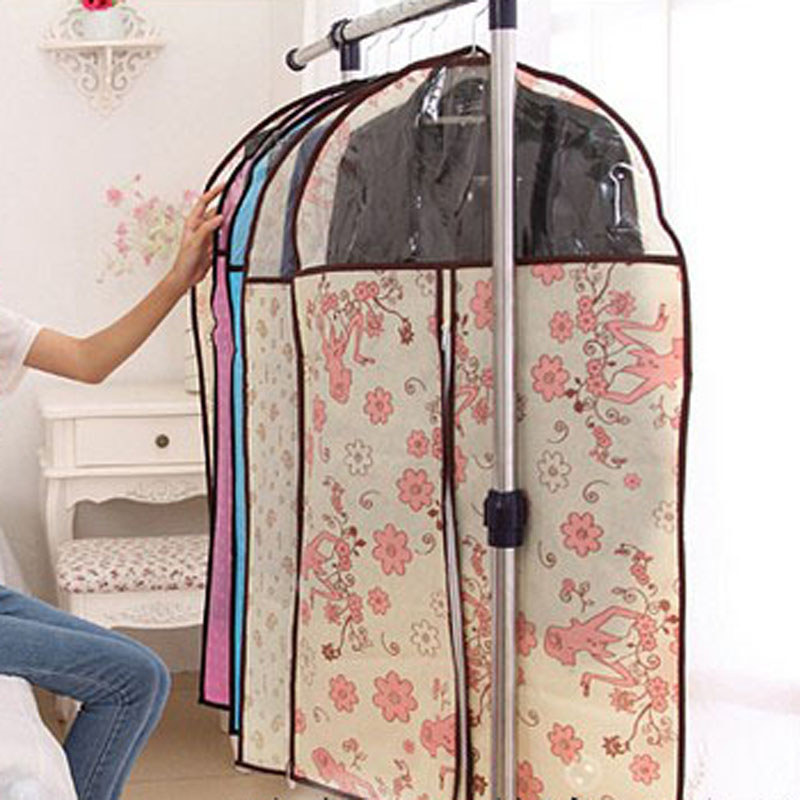 Clothes Dress Garment Cover Bags Dustproof Suit Coat Storage Protector Housses Vetements Bag E5m1 In From Home Garden On