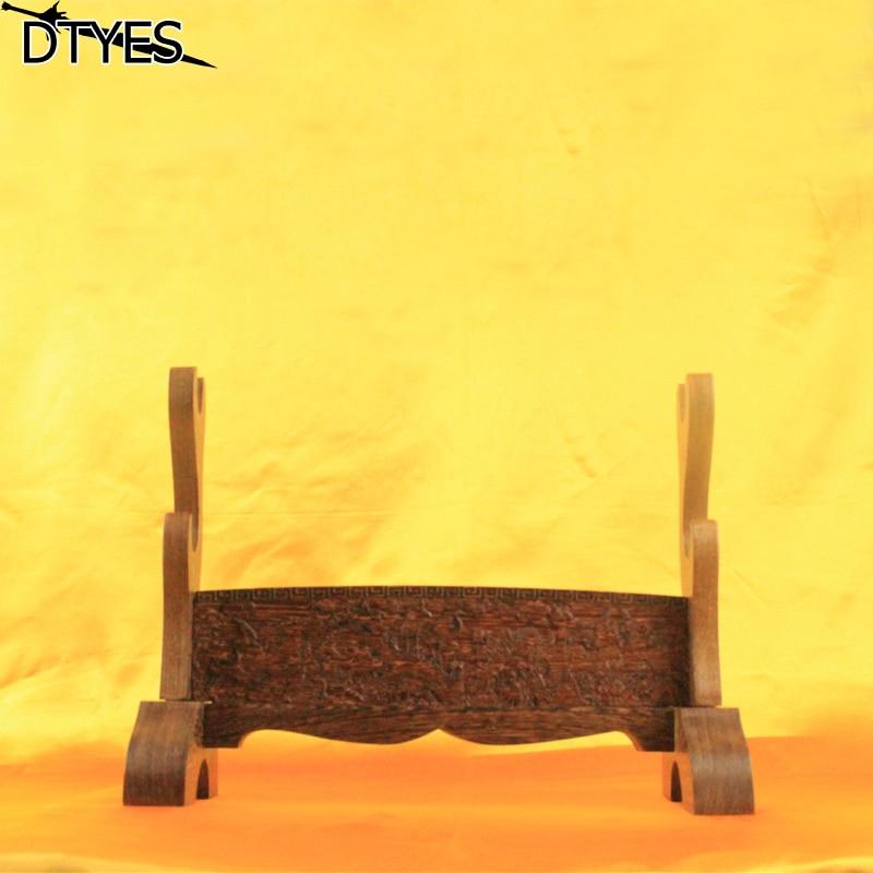 39 cm * 17 cm * 29 cm extraíble 2 capas de grúas de madera japonés Katana soporte de la espada suministros de decoración para todas las espadas-in Espadas from Hogar y Mascotas    1