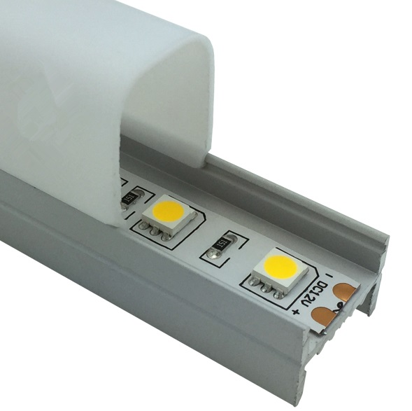 Free Shipping 1m/3.3 feet <font><b>led</b></font> aluminum <font><b>extrusion</b></font> Aluminium Surface Mounted <font><b>LED</b></font> Strip Light Profile For Ceiling Lights 10m/lot