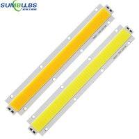 Sumbulbs 180x27MM High Power 150W LED light Strip COB Bulb DC 28 33V Warm/ Cold White Ultra Bright LED Lighting Source for DIY
