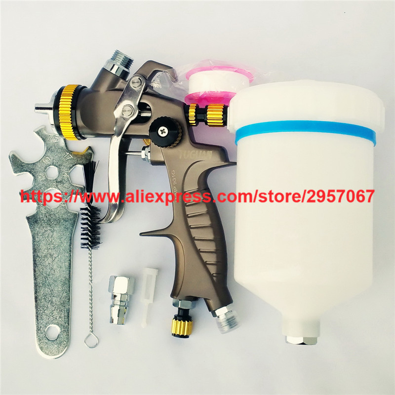 LVMP Gravity Feed Spray Gun 1.3mm nozzle paint gun 600CC paint sprayers spray painting gun цена
