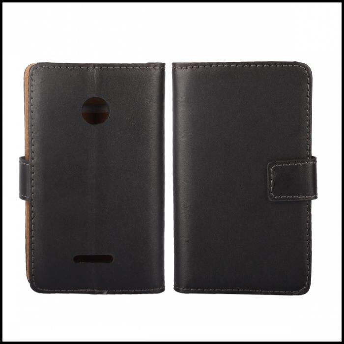 Para microsoft lumia 532 caso cubierta de la carpeta del tirón del libro de cuer