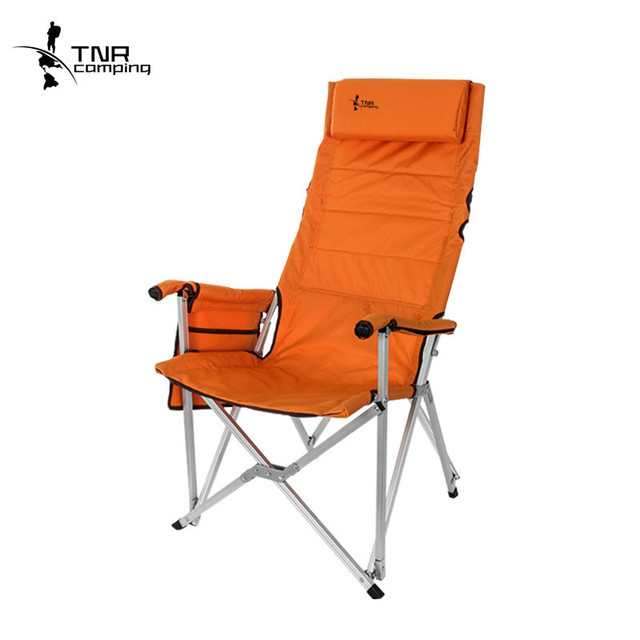 Folding Kentucky Chair Theodore Alexander Chairs Ky08 Multifunctional Outdoor Recliner Portable Oxford Aluminum Alloy Fishing With Pocket Pillow Bag
