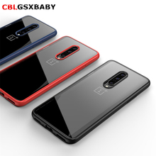 phone case for One Plus 7 case shockproof transparent acrylic reinforced corner TPU Soft silicone case for OnePlus 7 Pro Coque