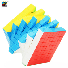 Moyu MF Classroom 7Layers Cube MF7S Cube Seven Layer Black or Stickerless or White Cube Puzzle