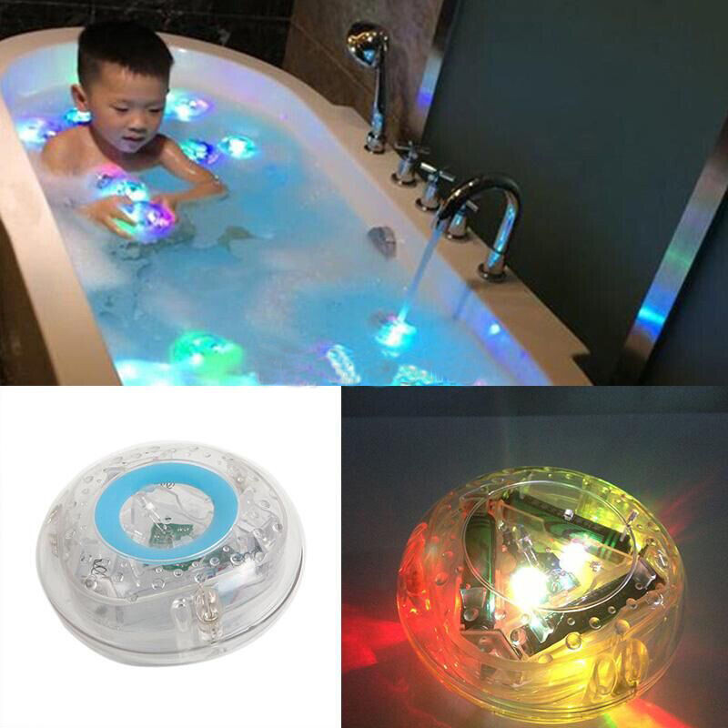 2 pieces bath light led light toy Party in the Tub Toy Bath Water ...