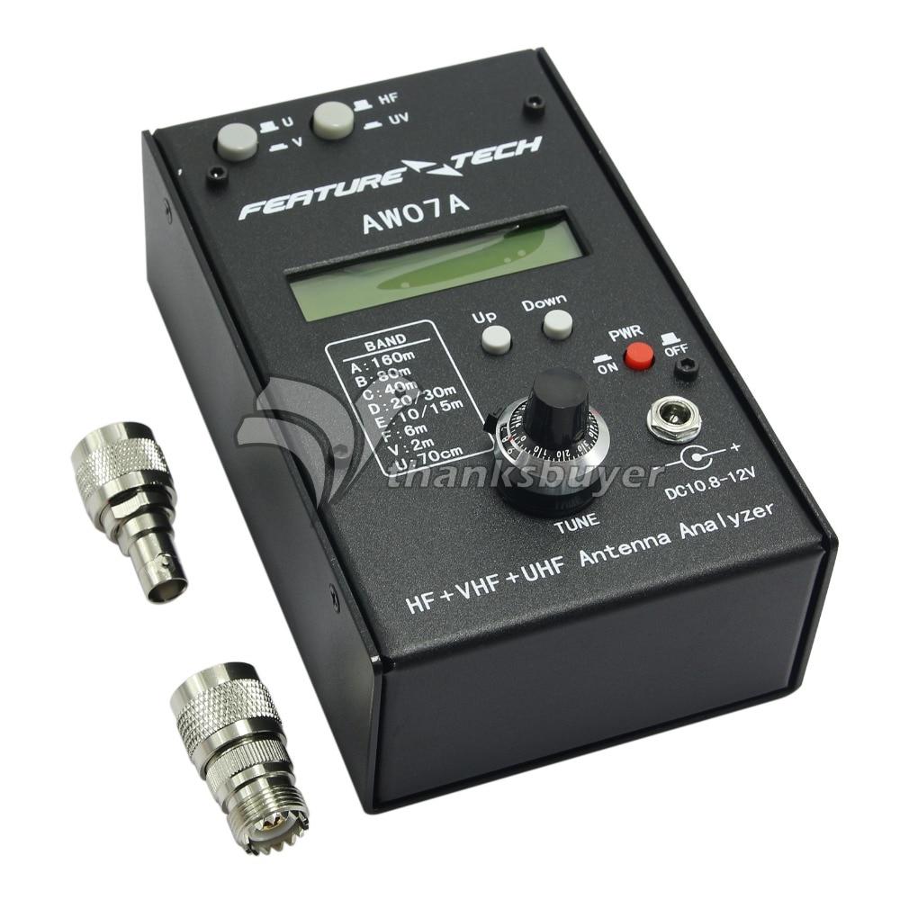 160M HF VHF UHF Impedance SWR Antenna Analyzer AW07A f Ham Radio Hobbists