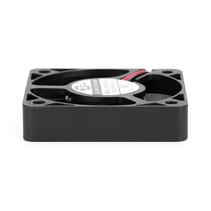 Image 4 - 2 個 3D ファン真新しい sxdool SXD5010S12M 50 ミリメートル 50*50*10 ミリメートルスリム 10 ミリメートル厚さ DC12V 0.10A 4500 rpm 11.2CFM 軸冷却ファン