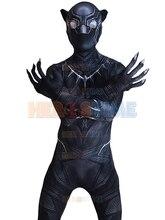 ボディ 送料無料3d スーツ パンサー衣装スパンデックス