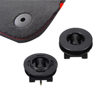 New Arrive 2Pcs Universal Fixing Grips Clamps Floor Mats Holders Plastic Car Mat Carpet Clips Anti-Slip Clips car accessories image