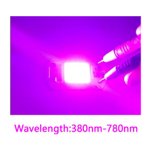 30PCS/LOT Full spectrum 380-780nm indoor instead sunlight actual Power 20w 30w 50W DIY led grow light chip for plants