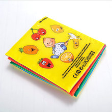 New Baby Toys 0~12 Months Baby Books Russian&English Language Rattle Toy Newborn Crib Cloth Infant Education Kids Toy(China)