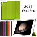 Сверхтонкий стенд PU кожаный чехол для ipad pro 12.9 дюймов планшет чехол для Apple , услуга до крышки бесплатная shipp + пленка + стилус