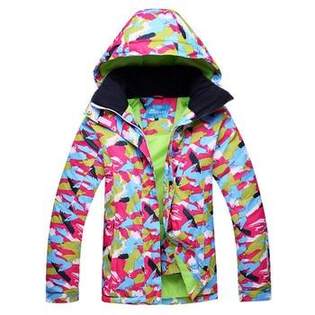 Hot Sale Winter Women Waterproof Windproof Snowboard Coat Snow Female Warm Outdoor Mountain Skiing Jacket
