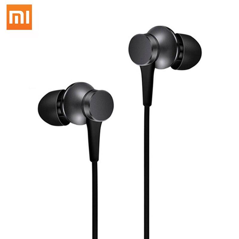 100% Originale Xiaomi Pistone Basic Edition Auricolare Con Microfono Ecouteur Earpods Auricolare Per il iphone Samsung Mi 3 4 Telefono Redmi