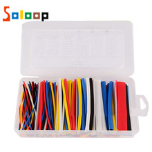 170PCS Heat Shrink Tubing Shrinkable Tube Assortment  2: 1 Electronic Cable Insulation Materials