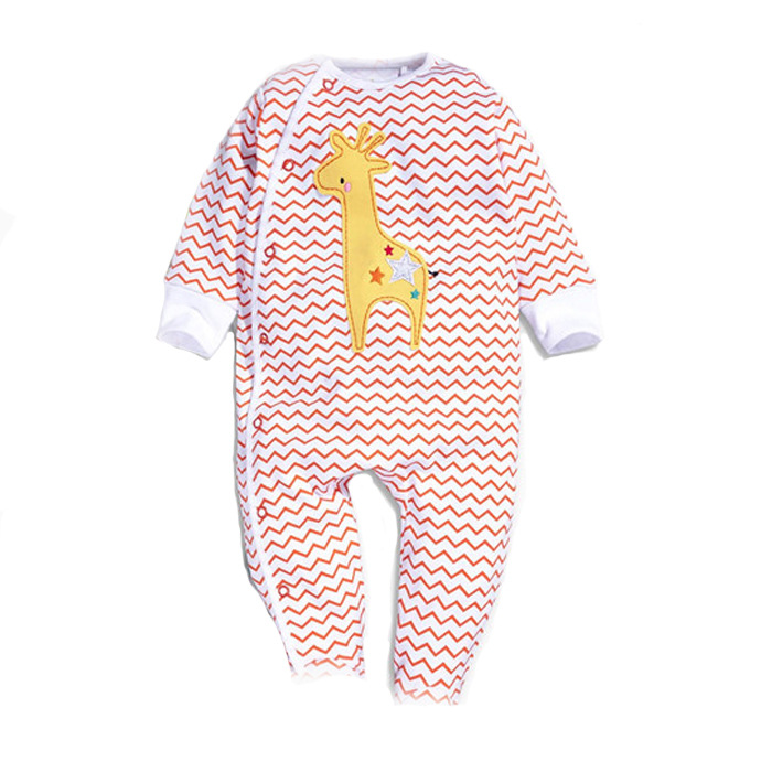 [Bosudhsou.] FJ-10 Newborn Baby Girls Boys Rompers Romper Body Suit Cartoon Long Sleeve Clothes roupas bebe Children Clothing penguin fleece body bebe baby rompers long sleeve roupas infantil newborn baby girl romper clothes infant clothing size 6m