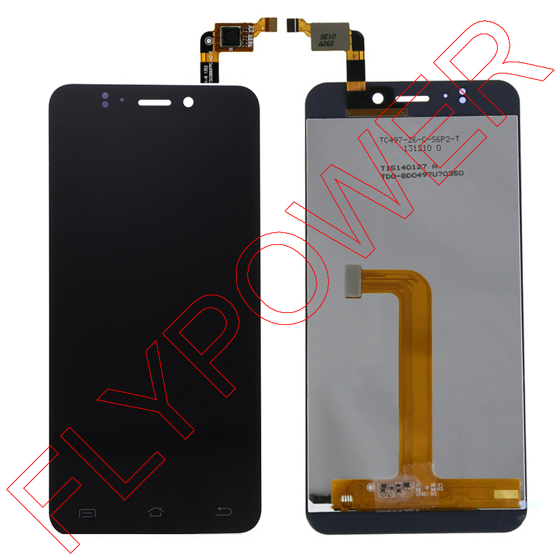 FOR Jiayu S2 LCD Screen Display With Black Touch Screen Digitizer Assembly By Free Shipping; 100% Warranty