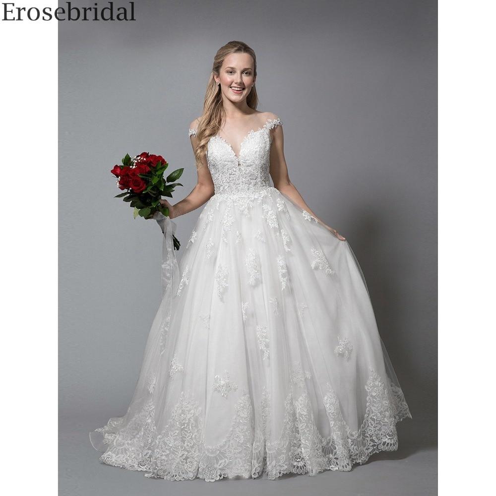 Aliexpress.com : Buy Erosebridal Simlpe Ball Gown Wedding