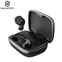 SoundPEATS Bluetooth 5,0 Беспроводной наушники IPX7 Водонепроницаемый True Беспроводной стерео наушники-вкладыши Наушники-вкладыши TWS Bluetooth гарнитура с м...