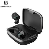 SoundPEATS Bluetooth 5.0 Wireless Earphones IPX7 Waterproof True Wireless Stereo Earbuds in Ear TWS Bluetooth Headset with Mic
