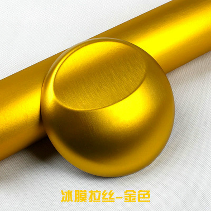 152СМ Золотой металлик матовый алюминий винил металлический винил автомобиля пленкой стайлинг для автомобильного интерьера наклейки аксессуары