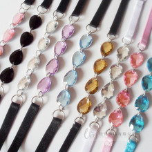 New Attractive women s fashion sexy beauty crystal font b bra b font strap with Elastic