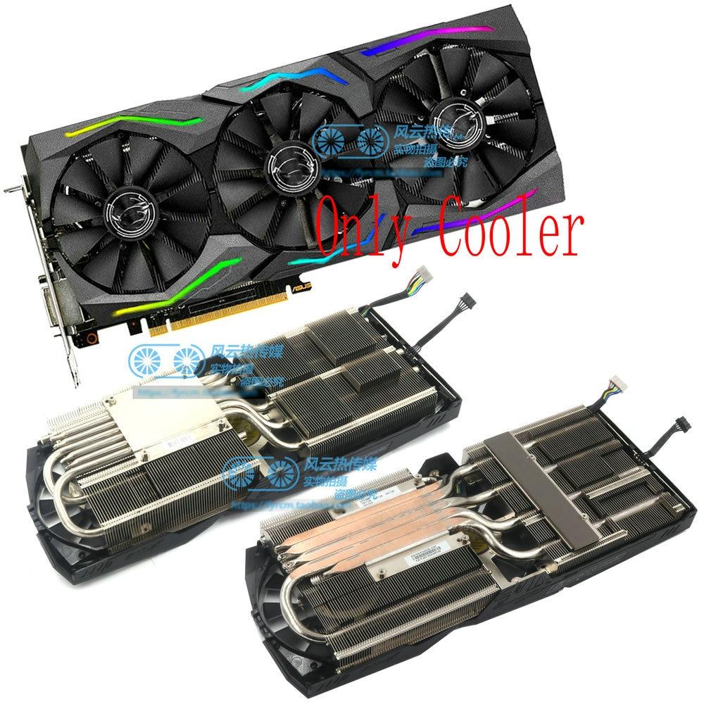 New Original For ASUS STRIX GTX1080Ti GTX1080 GTX1070Ti GTX1070 GTX1060 RX580 RX480 Video Graphics Card Cooler