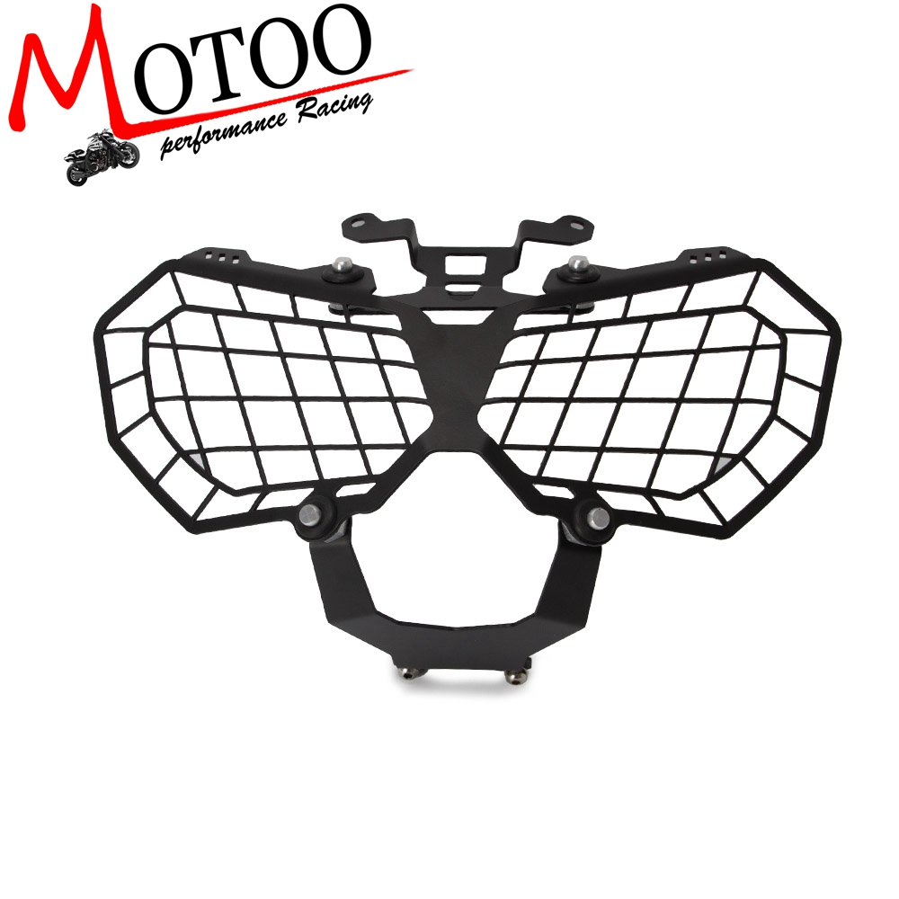 Motorcycle Grille Headlight Protector Guard Lense Cover For HONDA CRF1000L AFRICA TWIN 2016 2017 CRF 1000L