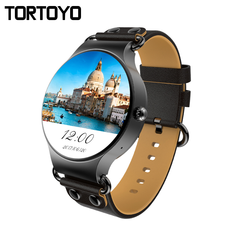 KW98 3G Smart Watch Phone Android OS 5.1 ROM 8GB Wifi GPS MTK6580 Bluetooth Smartwatch Weather Music SMS SYNC Heart Rate Monitor цена