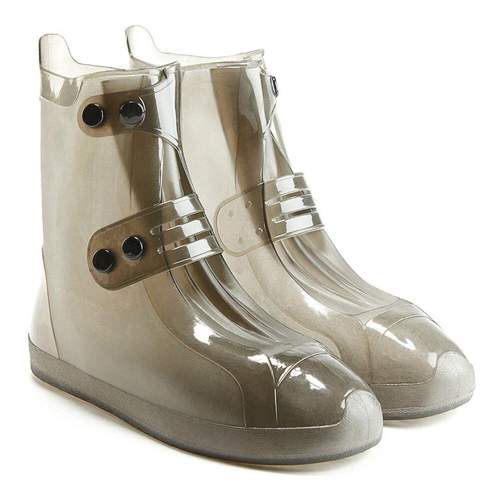 Sinnvoll Unisex Nahtlose Anti-rutschschuhe Regen Schuh Abdeckungen Verdicken Zweireiher Einstellbare Outdoor Reise Wiederverwendbare Niedrigen Stiefel In Vielen Stilen Schuhzubehör