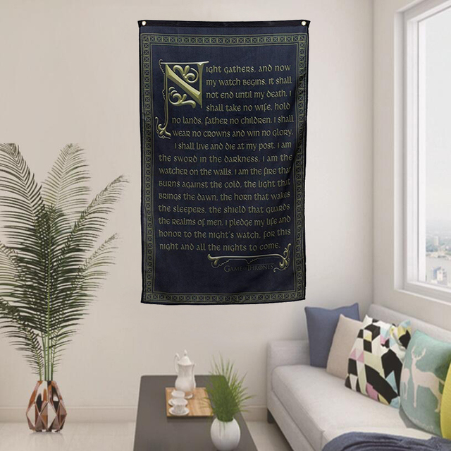 """Oath of the Night's Watch"" Banner"